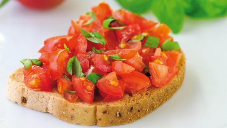 ברוסקטת עגבניות