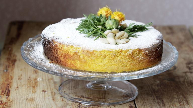 עוגת גזר שקדים