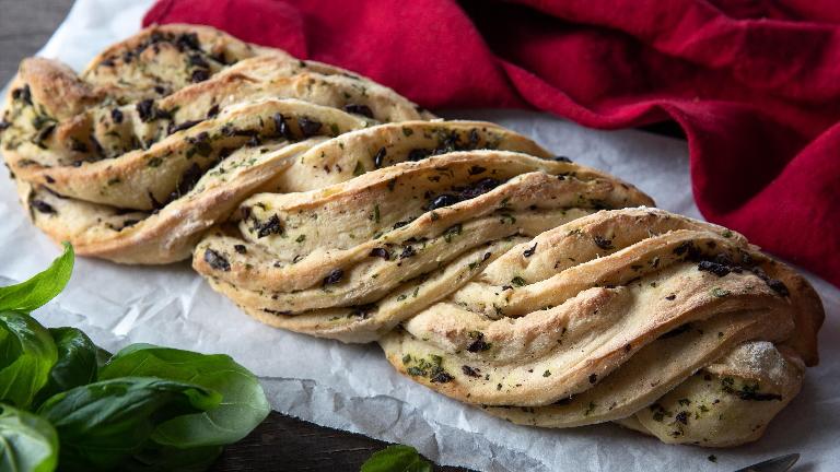 לחם עשבי תיבול קלוע ללא גלוטן