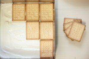 עוגת ביסקוויטים גבינה ללא גלוטן